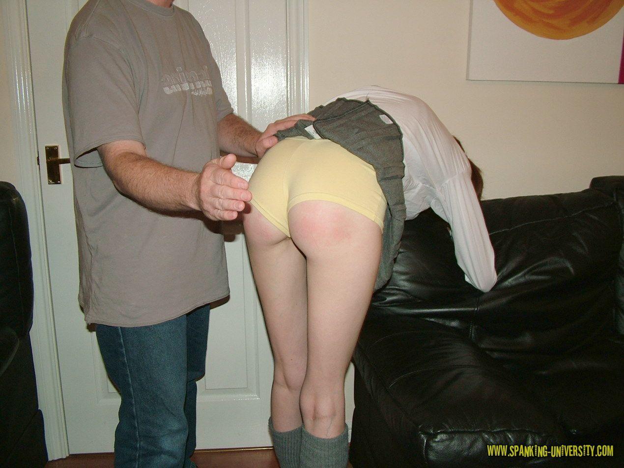 free schoolgirl spanking