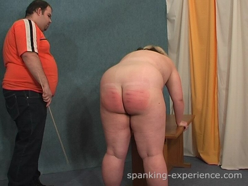 Girl spanking fat