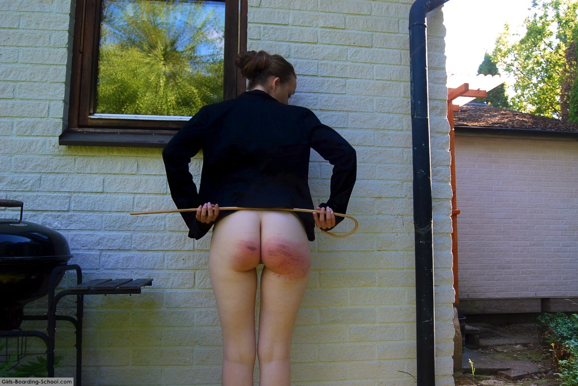 caning girls