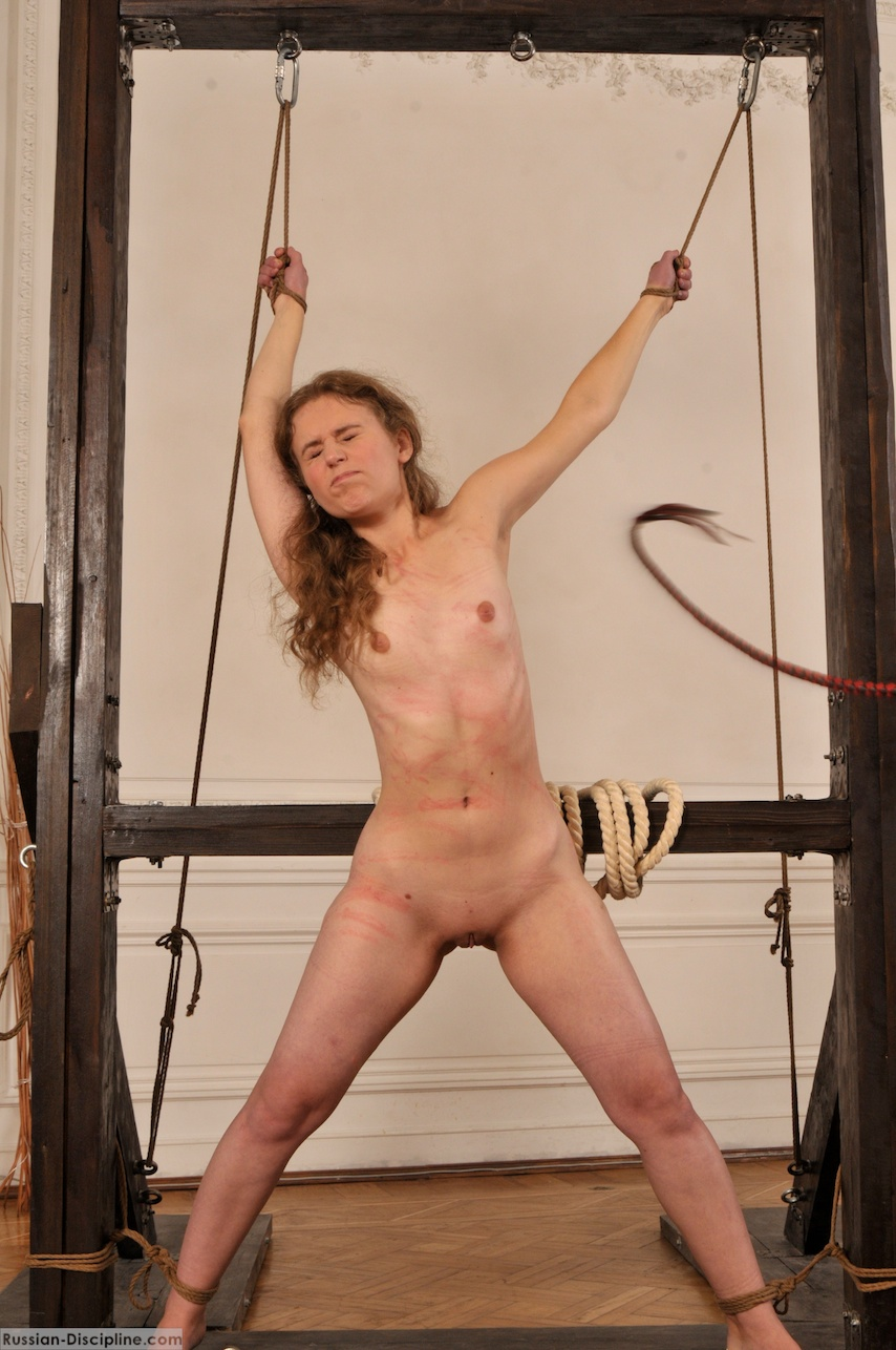 Pussy worshiping and whipping