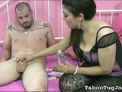 Hot dude can not help fast sperm ejaculation
