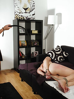 4 of Hard tied Veronica got an unforgettable pain lesson