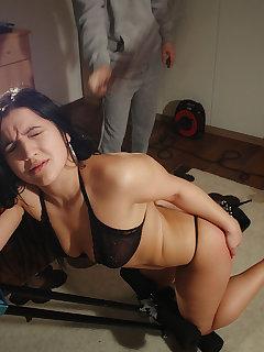 4 of Sexy busty Tisha needs the pain