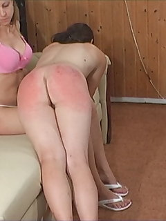 10 of Natasha - Until the Hourglass Runs out - girl spank girl (angle 2)