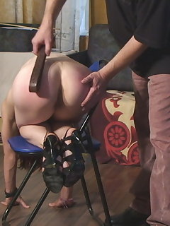 10 of Adrienne - severe test punishment (angle 2)