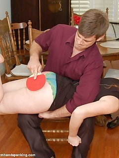 12 of A $5,000 overdraft costs Katya Nostrovia a sound spanking, bare bottom
