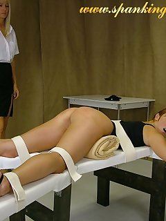16 of Happy blonde was punished