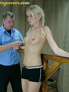 16 of Policeman punished bad girl