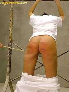 16 of Caning of young slut