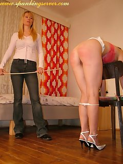16 of Caning of bad girl