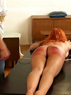16 of Three russian beauties humiliated, fucked and brutally spanked