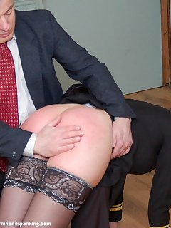 12 of Bare bottom spanking for naval officer