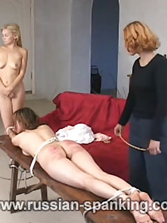 5 of Spanked Lesbians