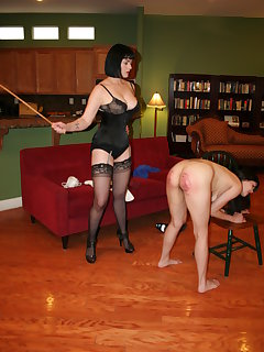 8 of Severe twelve stroke caning