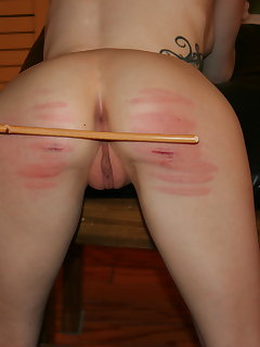 8 of The caning of Violet October