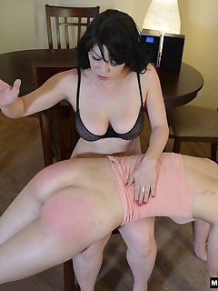 16 of Spanking in the dining room