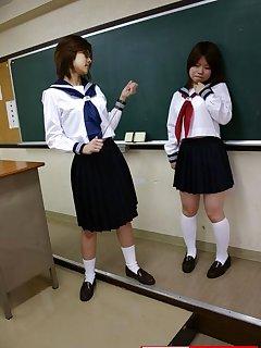 16 of Japan schoolgirl spanked by ruler