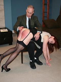 8 of Catherine de Sade spanked