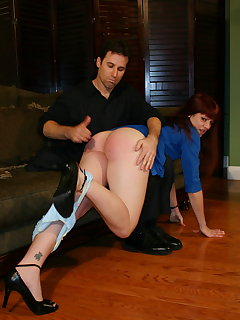 8 of Will bree 1st spanking
