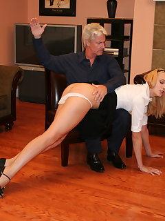 8 of Keith spanks Amelia