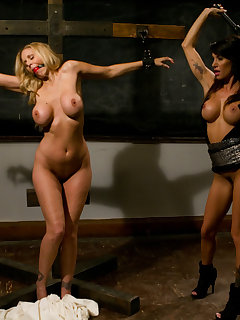 15 of Julia Ann is punished, spanked
