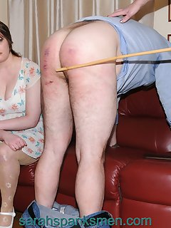 20 of My cane and his bare bottom
