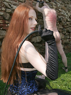Femdom whipping caning punishment extreme board-3479