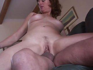 Milf pantyhose hairy